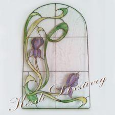 Tiffany- és ólomüveg - nyílászáróba 01.