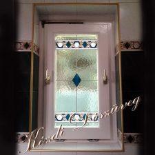 Tiffany- és ólomüveg - nyílászáróba 04.