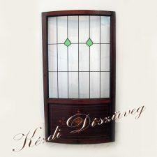 Tiffany- és ólomüveg - nyílászáróba 16.