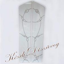 Tiffany- és ólomüveg - nyílászáróba 18.