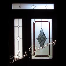 Tiffany- és ólomüveg nyílászáróba 32.