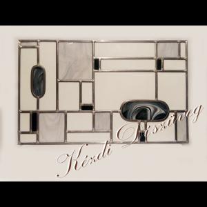 Tiffany- és ólomüveg nyílászáróba 53.