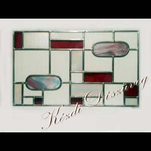 Tiffany- és ólomüveg nyílászáróba 54.