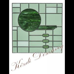 Tiffany- és ólomüveg nyílászáróba 57.