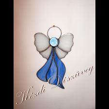 Tiffany üveg - angyal 23.
