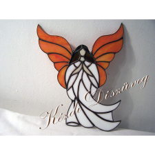 Tiffany üveg - angyal 32.