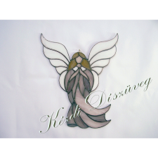 Tiffany üveg - angyal 33.
