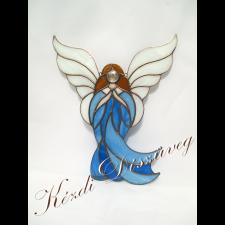 Tiffany üveg - angyal 34.