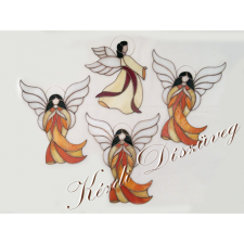 Tiffany üveg - angyal 43.