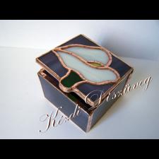 Tiffany üveg - díszdoboz 01.