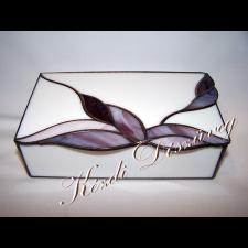 Tiffany üveg - díszdoboz 08.