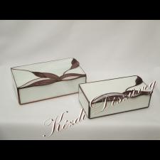 Tiffany üveg - díszdoboz 10.