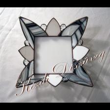Tiffany üveg - dísztárgy 10.