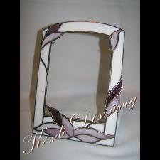 Tiffany üveg - fényképtartó 03.