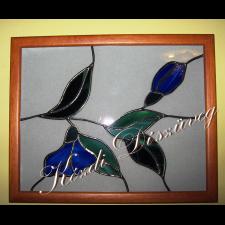 Tiffany üveg - falikép 01.