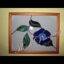 Tiffany üveg - falikép 02.
