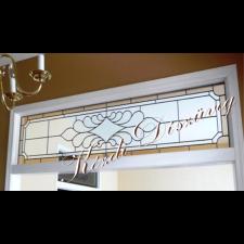 Tiffany üveg - felülvilágító 03.