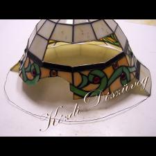 Tiffany- és ólomüveg javítás, restaurálás  04-2.