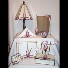 Tiffany üveg - felülvilágító 06.