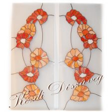 Tiffany üveg - konyhabútor 02.