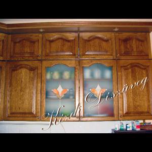 Tiffany üveg - konyhabútor 04.
