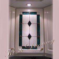 Tiffany üveg - konyhabútor 09.