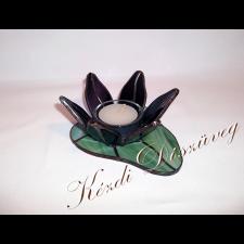 Tiffany üveg - mécsestartó 09.