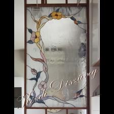 Tiffany- és ólomüveg nyílászáróba 06.