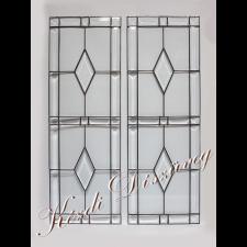 Tiffany- és ólomüveg nyílászáróba 17.