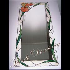Tiffany üveg - tükör 01.