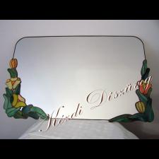Tiffany üveg - tükör 02.