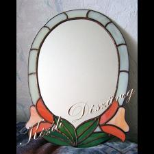 Tiffany üveg - tükör 03.
