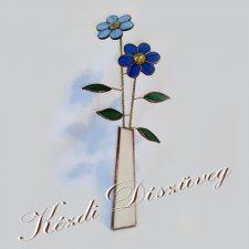Tiffany üveg - virág 02.