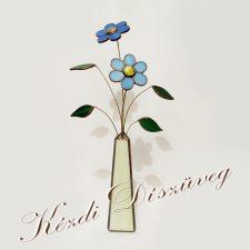 Tiffany üveg - virág 03.