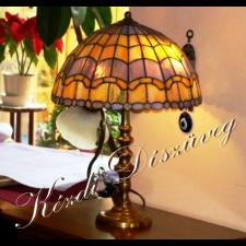 Tiffany lámpa - gömb 02-2.