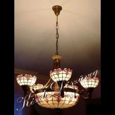 Tiffany lámpa - gömb 05-1.