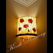 Tiffany lámpa - gömb 07-1.