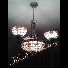 Tiffany lámpa - gömb 10-1.