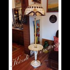 Tiffany lámpa - gömb 13-2.